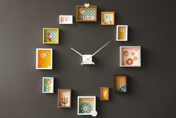 Little Willow » Blog Archive » photo frame clock