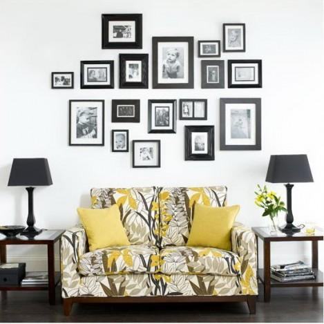 Picture Frame Wall Ideas Home Ideas And Contemporary