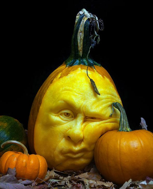 Hyper-realistic Pumpkin Sculptures | Picame - Daily dose of creativity