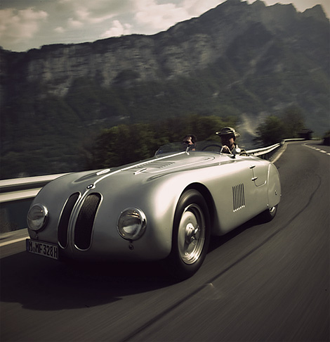 Cooler Than Before (BMW 328 Mille Miglia)