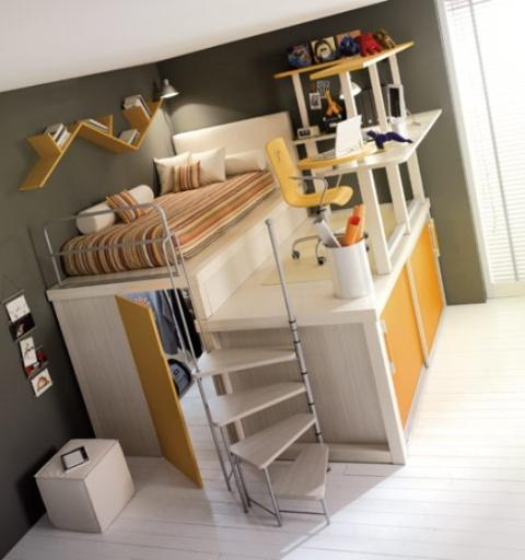 Loft Bedroom Ideas for Kids | u Home Interior
