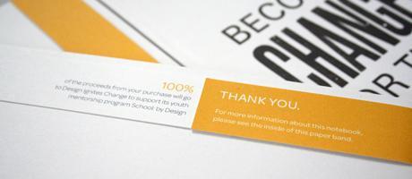 Design Ignites Change Notebook : Brittany Joy Skwierczynski