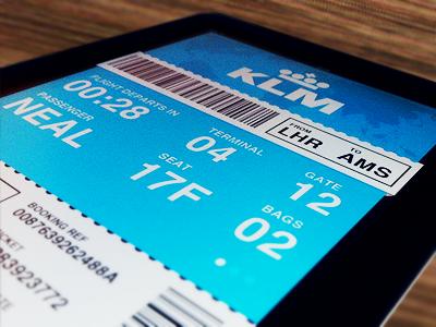 iPad Flight App by Tom Neal