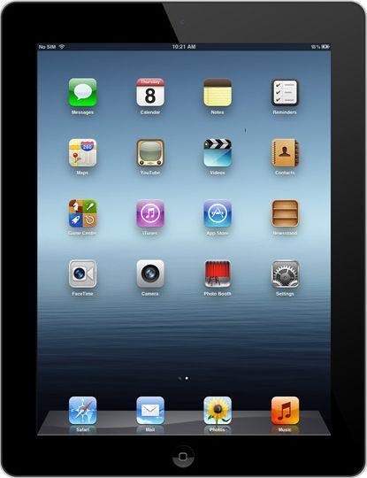 De Nieuwe iPad Wifi 16 GB zwart (3e generatie) - PDAshop.nl - PDAshop.nl