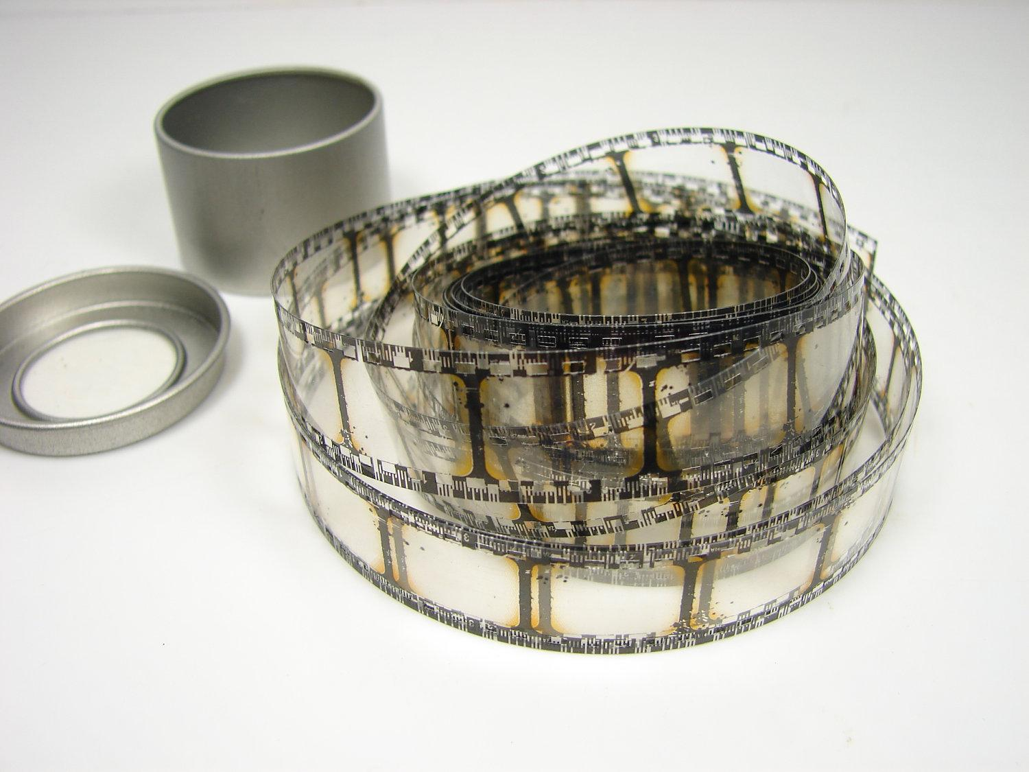 Film Strip Ribbon in Small Tin 3 yards Perfect for by ThirdShift