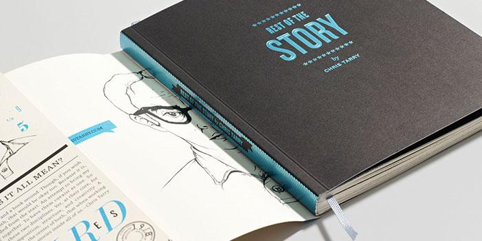 Chris Tarry: Rest of the Story CD Package - The Dieline -