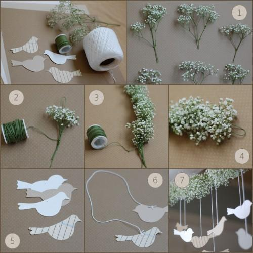 DIY Wedding Flower Garland | DIY | Once Wed