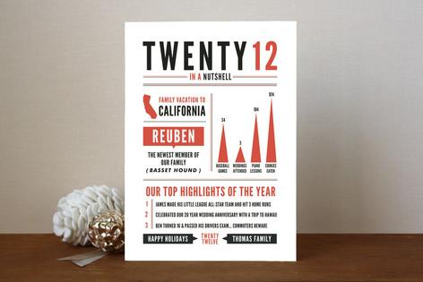 Infographic Holiday Cards by Spotted Whale Design | Paper Crave