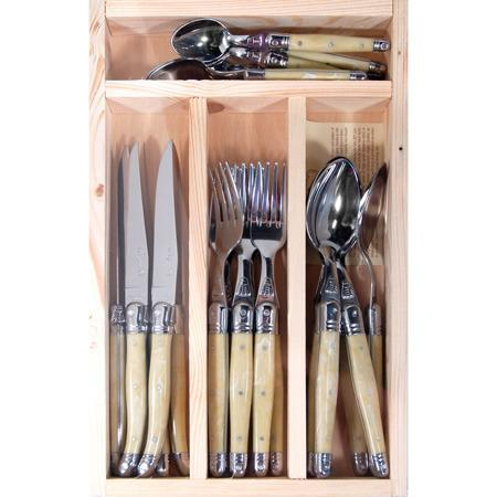 Shelley Panton — Laguiole 24 Piece Cutlery Set - Classic Colours