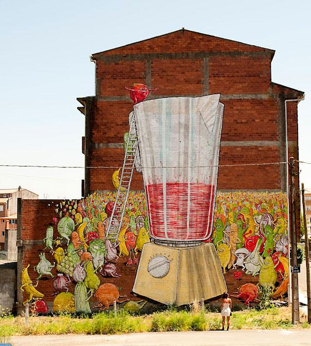 Large Scale Street Art Murals   InspireFirst