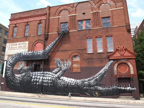 Large Scale Street Art Murals | InspireFirst
