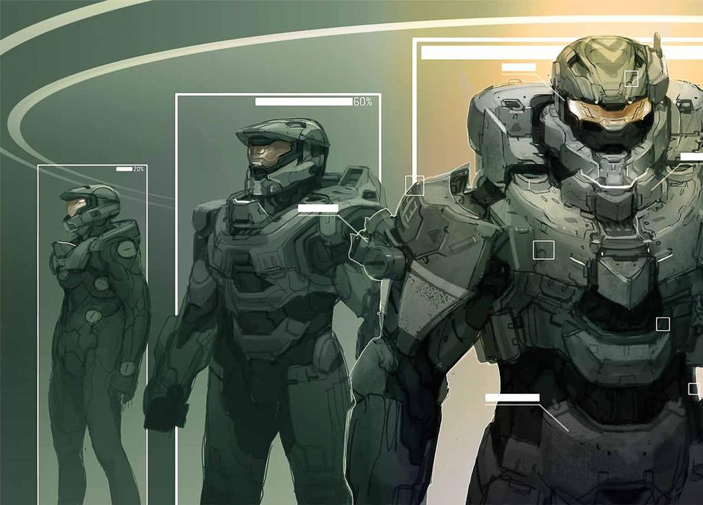 Master Chief's evolution: the concept art of 'Halo 4' | The Verge