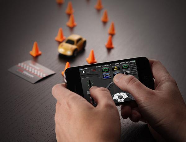 Zen Wheels Bluetooth Controlled Mini RC Car |Gadgetsin