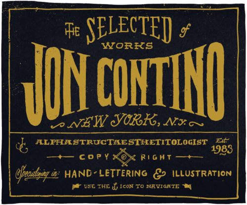 BLOG, THE : New website! http://joncontino.com