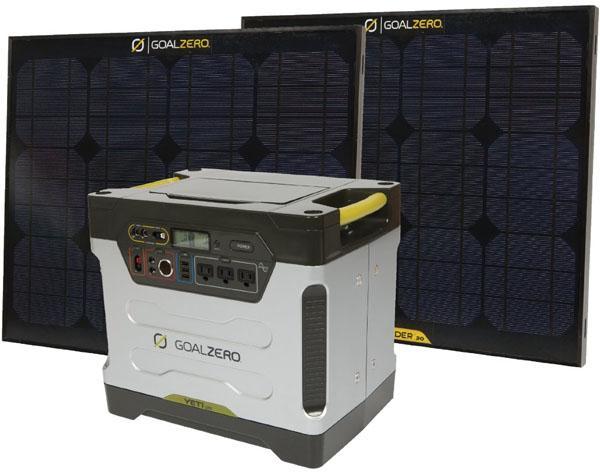 GoalZero Yeti Solar Generator Kit | GeekAlerts