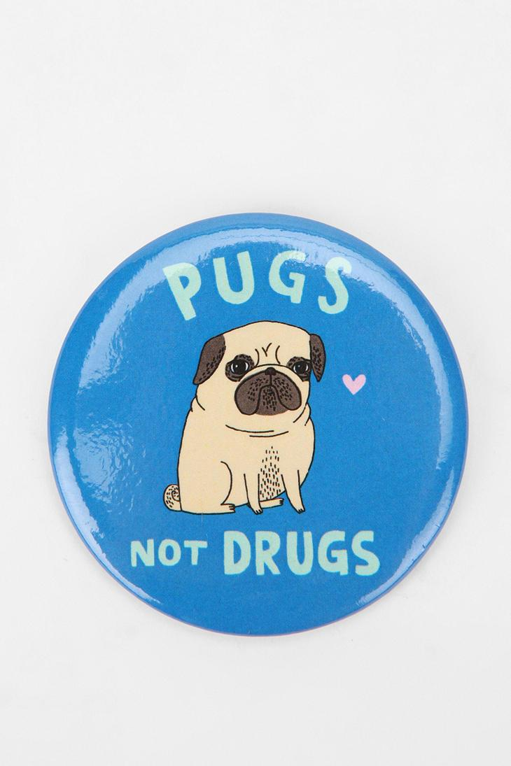 Animal Button Magnet - Urban Outfitters