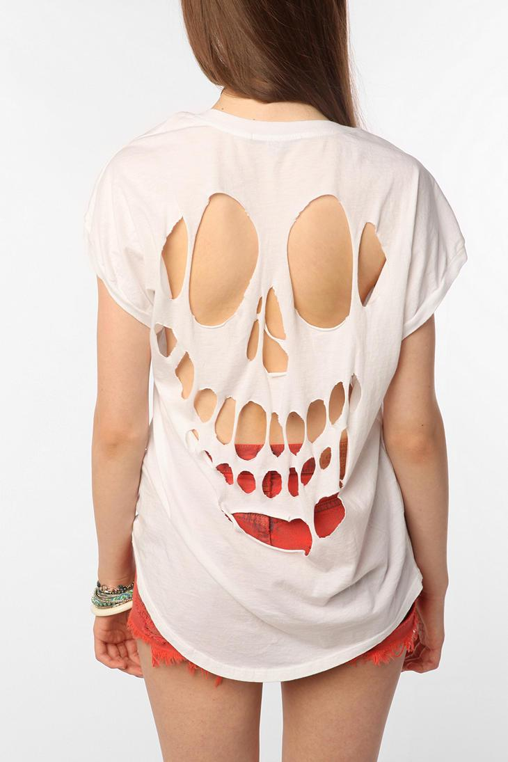 Truly Madly Deeply Cutout Back Tee - Urban Outfitters