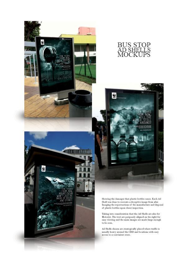 WWF - Drop one item Intergrated Campaign - Alfredo Seow portfolio