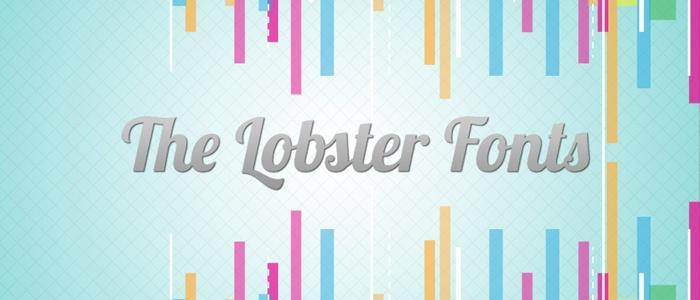 Lobster Font by Pablo Impallari - Sanggaranews