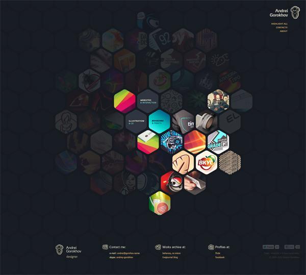 Web Design Inspiration #1   OTHER FOCUS