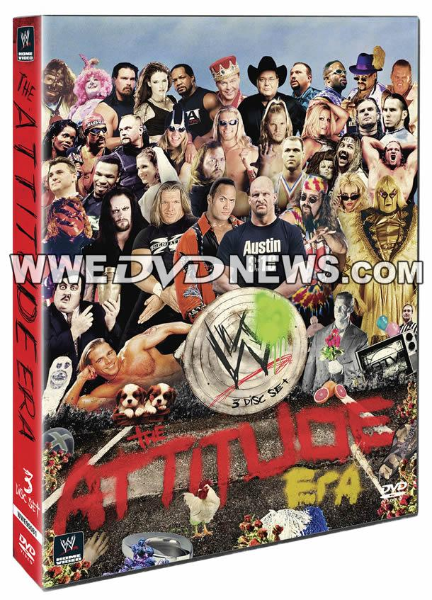 Exclusive: The Attitude Era WWE DVD & Blu-ray Cover Revealed | WWEDVDNews