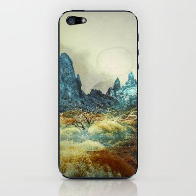 When we fall asleep iPhone & iPod Skin by pascal | Society6