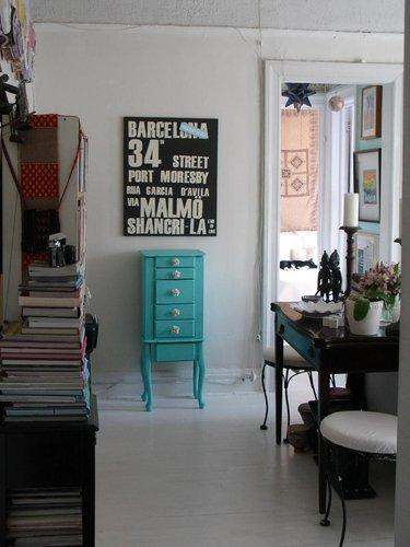 Louisa's Eclectic in Astoria | Small Cool 2011 | Apartment Therapy