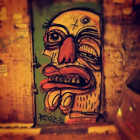 Street art by Dioz — Lost At E Minor: For creative people