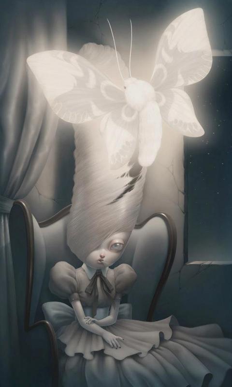 Paolo Pedroni's Italian Pop Surrealist art — Lost At E Minor: For creative people