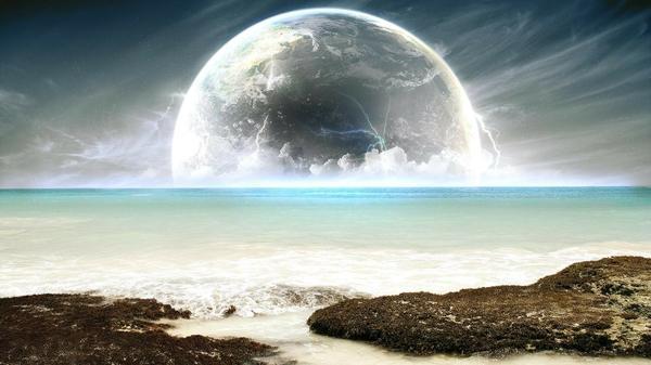 landscapes,seas landscapes seas moon 1600x900 wallpaper – Moon Wallpapers – Free Desktop Wallpapers