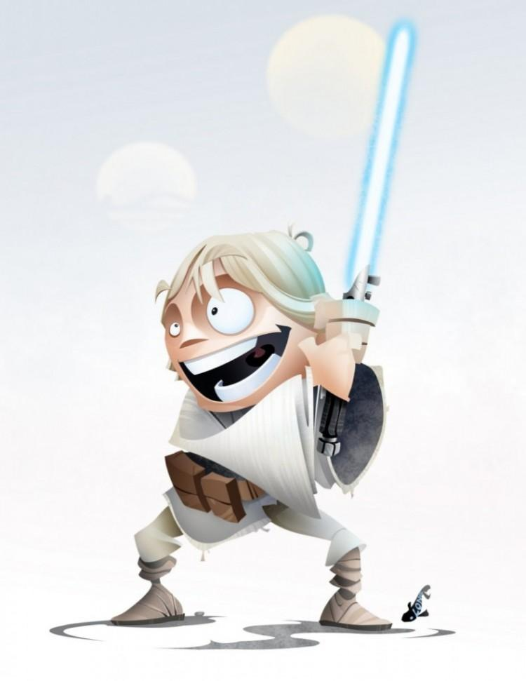 Star Wars Heroes » Design You Trust – Design Blog and Community
