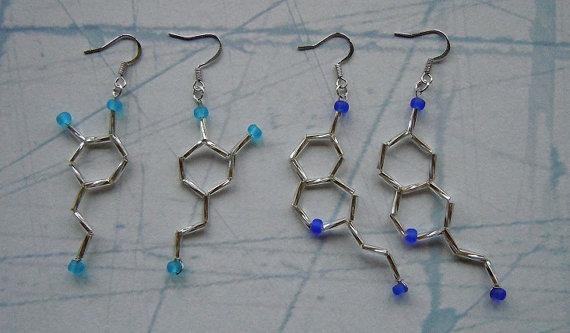 Biolojewelry Serotonin & Dopamine Set by BiolojewelryandSuch