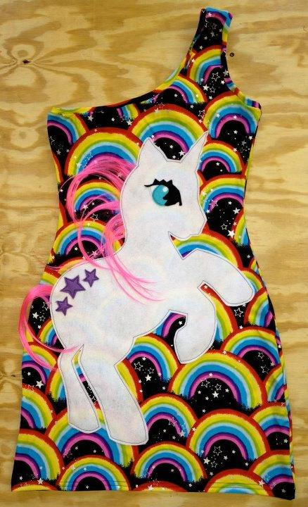 My Little Unicorn Dress by devowevoshop on Etsy