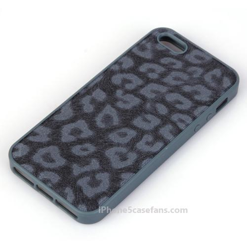 KALAIDENG iPhone 5 Leopard Case with Black Cover - iphone5casefans.com