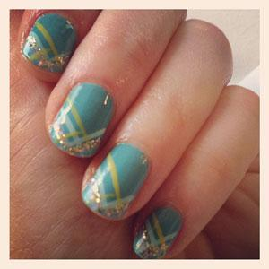 Nail Design Pictures - Creative Celebrity Nail Polish Designs - Seventeen