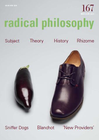 Magazine Wall - Radical Philosophy