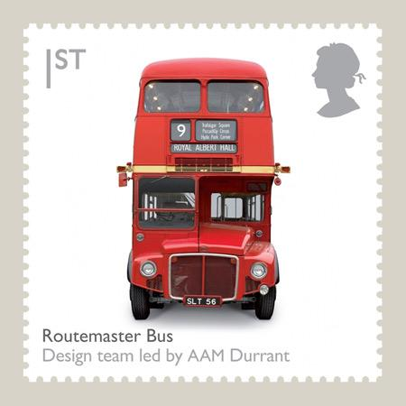 British Design Classics stamps by Royal Mail - Dezeen