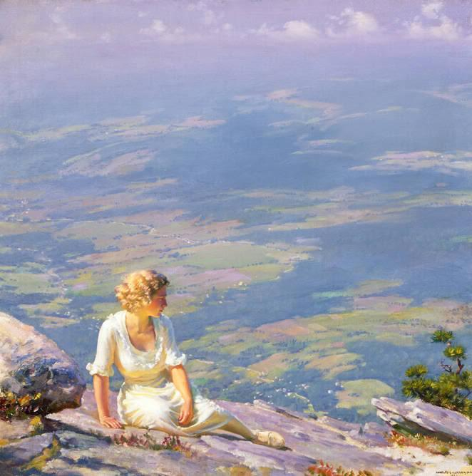 Charles Courtney Curran (1861-1942) - Sunshine and Haze