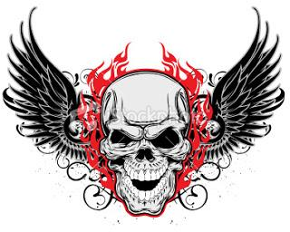Winged Skulls For Tattoos - Skull with Wings Tattoo Ideas - Tattoos - Zimbio