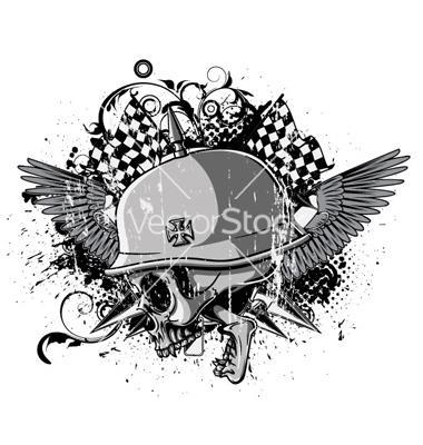 ????????? ?????? Google ??? http://www.vectorstock.com/i/composite/35,99/skull-with-wings-vector-853599.jpg