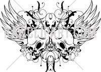 ????????? ?????? Google ??? http://www.rawclipart.com/images/skull_and_wings.jpg