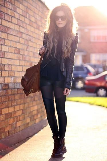 Storets Jacket, Blackmilk Leggings //