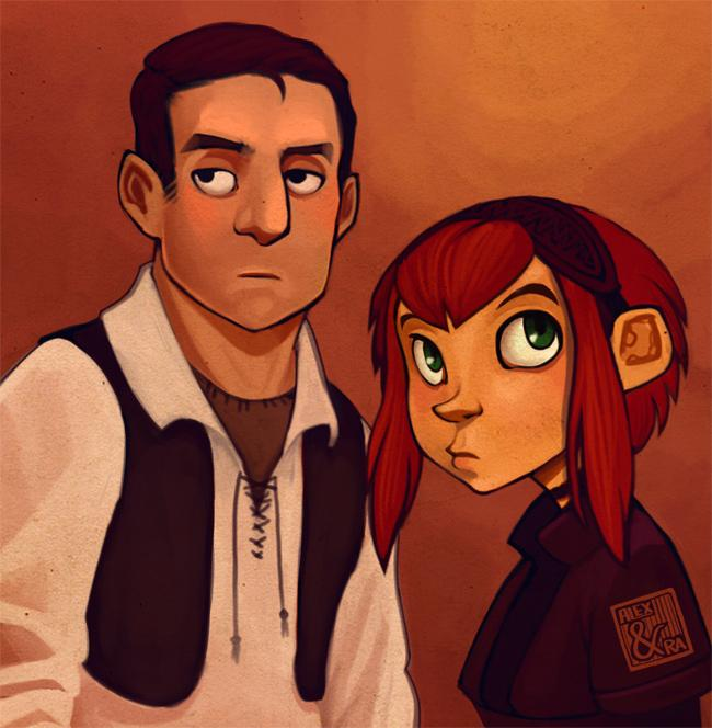Stu and Ginny by `thundercake