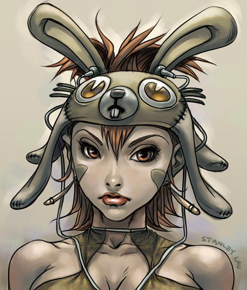 Bunny Gal by `Artgerm