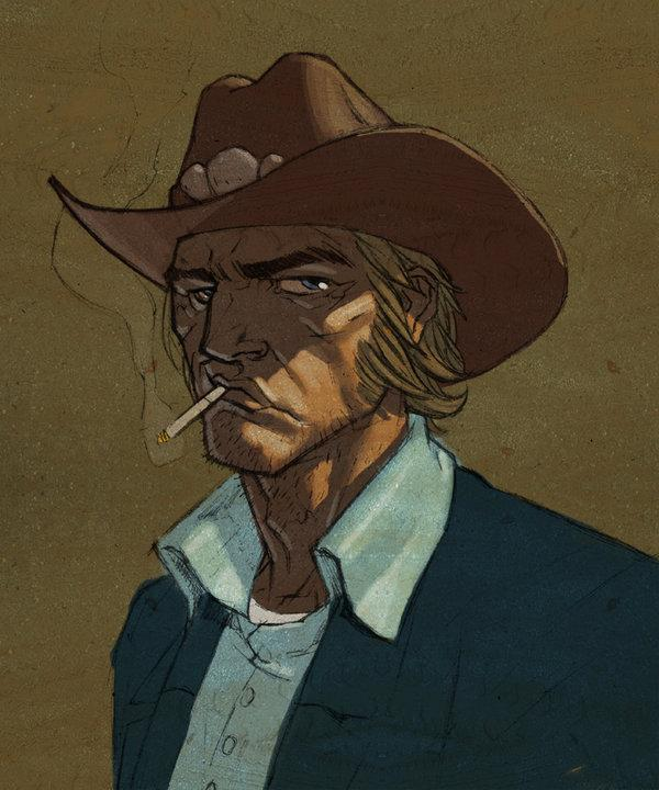 Zeke of Cowboys and Aliens by *jeffwamester