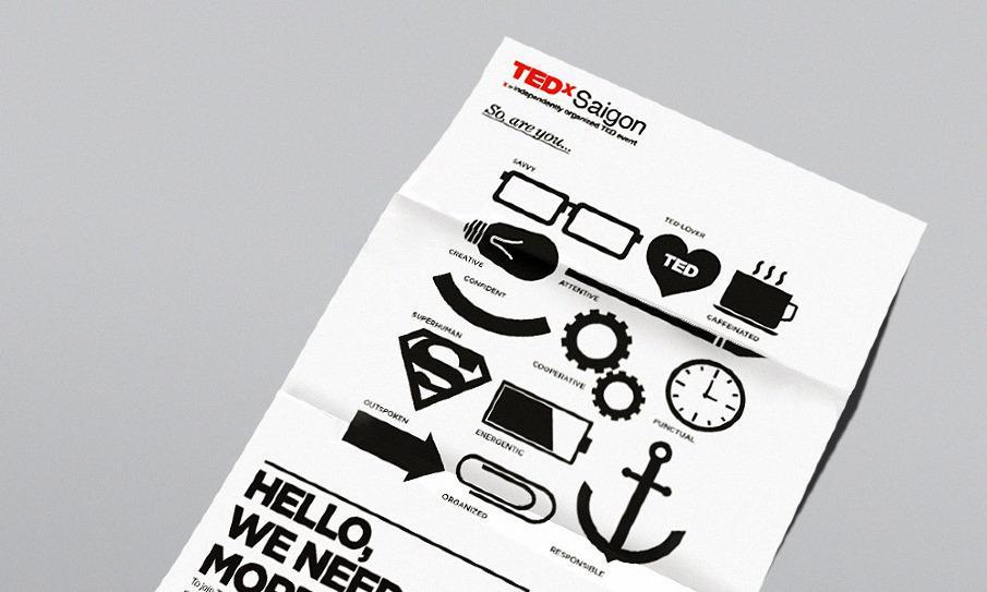TEDxSaigon Recruitment - Giang Nguyen's Portfolio