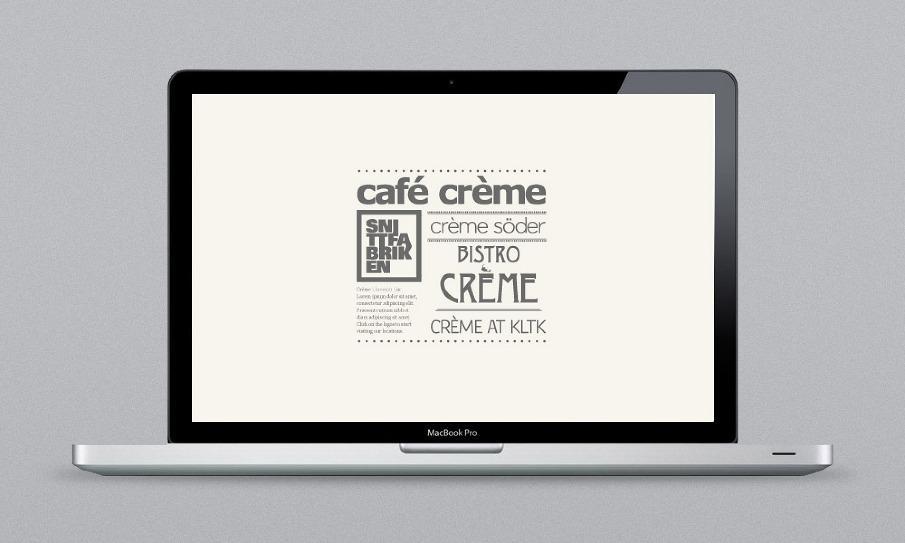 Crème website - Giang Nguyen's Portfolio
