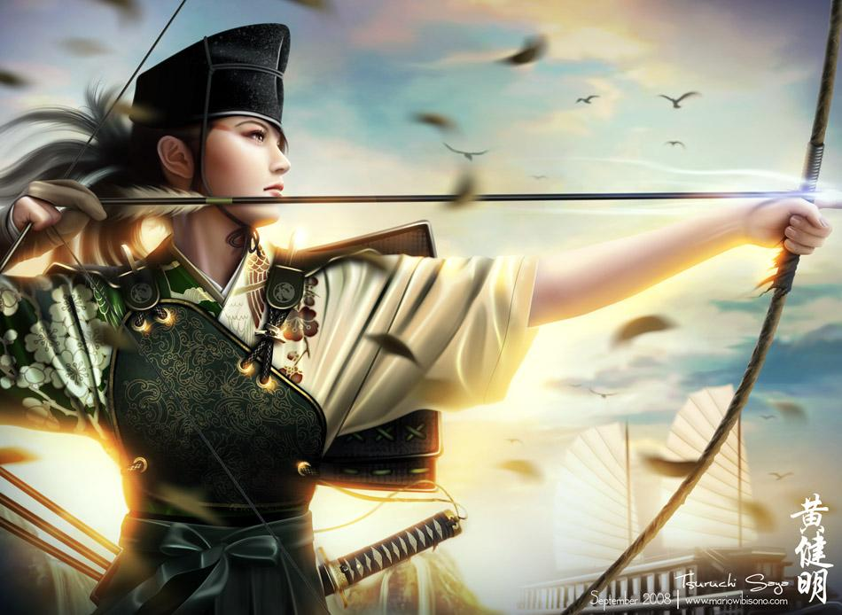 Tsuruchi Saya by *MarioWibisono