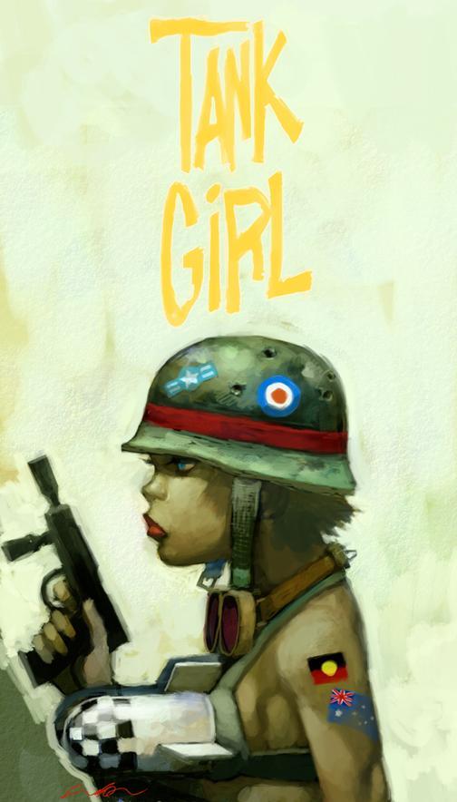tank girl by ~cuson