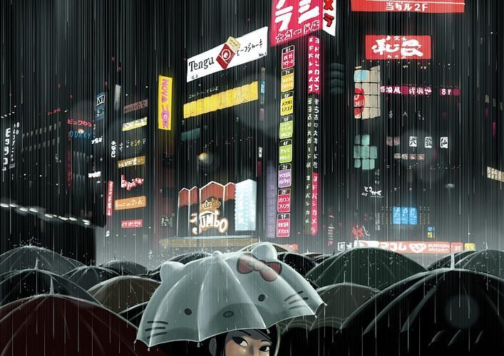 Hello Shinjuku by ~rui-ricardo